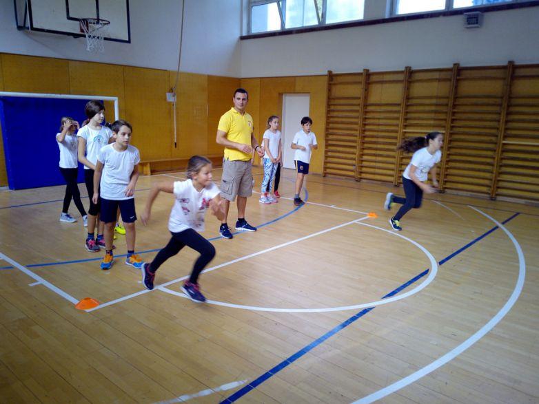 Prezentacija atletike u OŠ Cvjetno