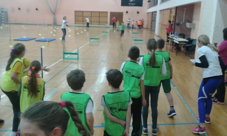 Kids athletics na Kineziološkom fakultetu